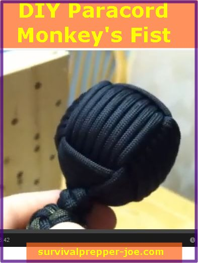 paracord monkey fist instructions