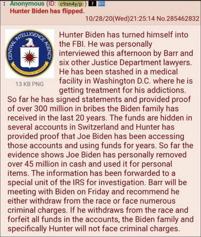 "Hunter Biden Has Flipped, Biden Family $300 Million Stash In Switzerland... Rudy Guiliani Freestyles One Of Greatest Speeches Ever, A Summary Of Joe Biden's 30 Year Crime Spree, Saying Joe Biden Is ""The Prince Of Darkness""!!"