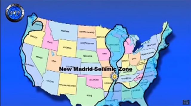 Preparing For Pole Shift Retired Military Man John Moore - Us navy map after pole shift