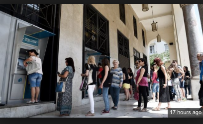 Full Blown Collapse: Greek Banks & Stock Markets CLOSED On Monday (VIDEO)