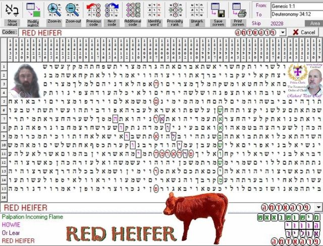 Red Heifer -- Torah Code Discovery - ABN - The Armageddon Broadcast Network - RayEl HaMoshiach