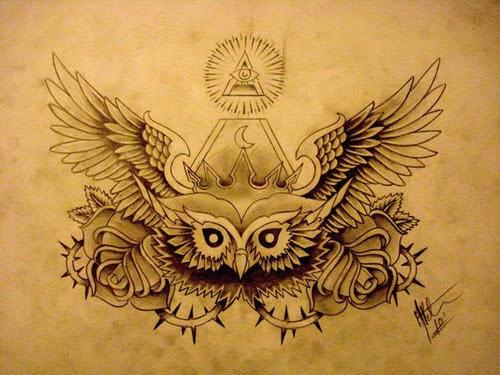 Nwo Symbology The Owl Symbol Of The Freemasons Alternative