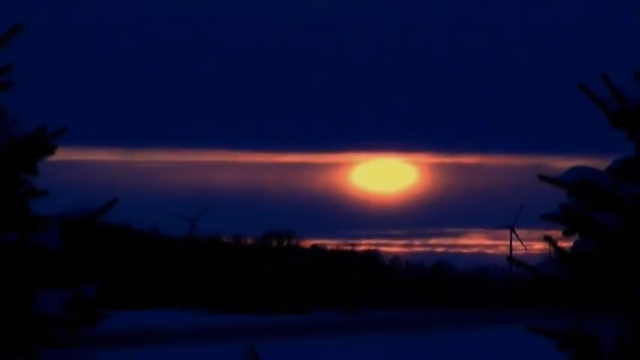 image larger Nibiru seen from New York State before sunrise.