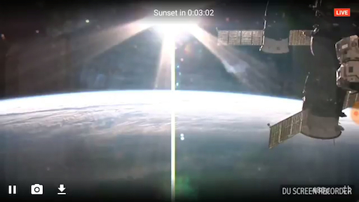image Nibiru seen from the ISS on Feb. 3rd