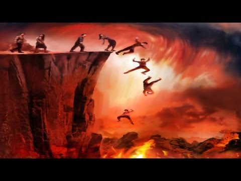 Michael jackson in hell fire