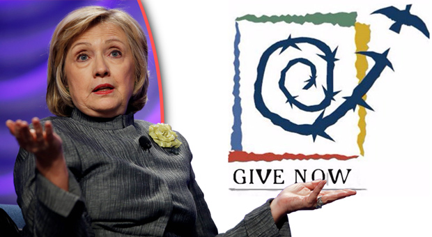 Hillary Clinton-Backed Charity Caught Using Pedophile Symbolism