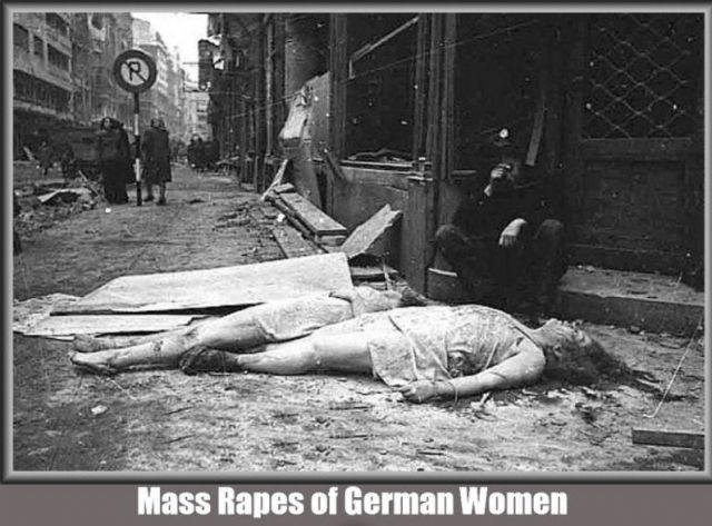 WWII Allied Rape Fest