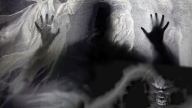 Creepy! Ghosts, Ghouls, Evil Spirits & Spooky Paranormal