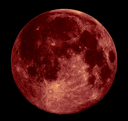 red full moon today - photo #48