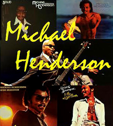 Singer, Songwriter, Producer Michael Henderson