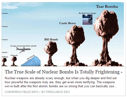 Tsar Bomba: The True Scale of Nuclear Bombs Is Totally ...