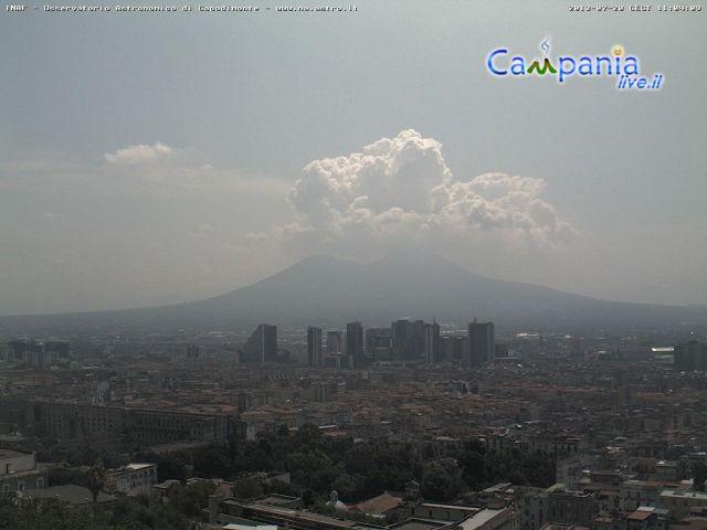 Mt. Vesuvius Has Awoken? Cayce Prophecies