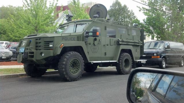 SOFT-CORE POLICE STATE: Armored Tanks Continue to be Routinely Spotted throughout the US (Video)