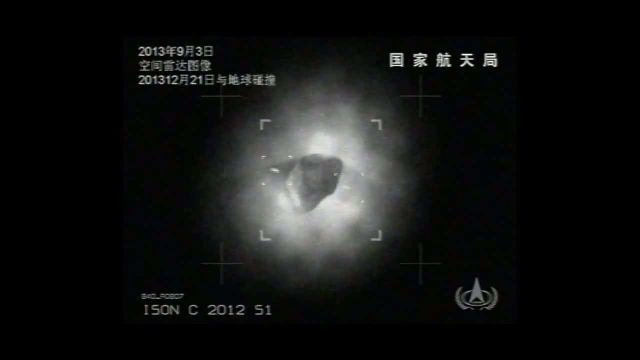 Two UFOs Circling Ison as Seen from China's Radar Cameras  Comet_Ison_with_2_objects_new_feed_this_time_from_the_Chinese_Space_Radar__151788