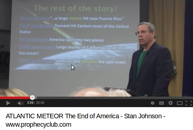 Atlantic Meteor & The End Of America – The Prophecy Club & Stan