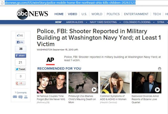AP Reported Navy Attack Day Before It Happened? Debunked!