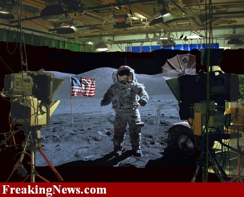 moon landing hoax studio - photo #1