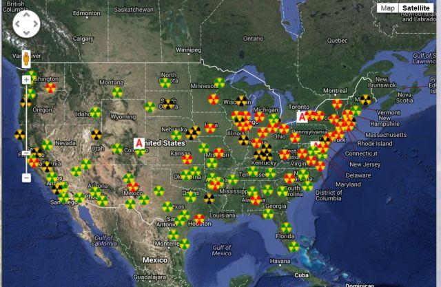 Fukushima follow up... East Coast Radiation Counts Skyrocket.. Ofvo