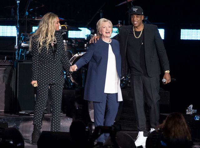 beyonce and hillary clinton