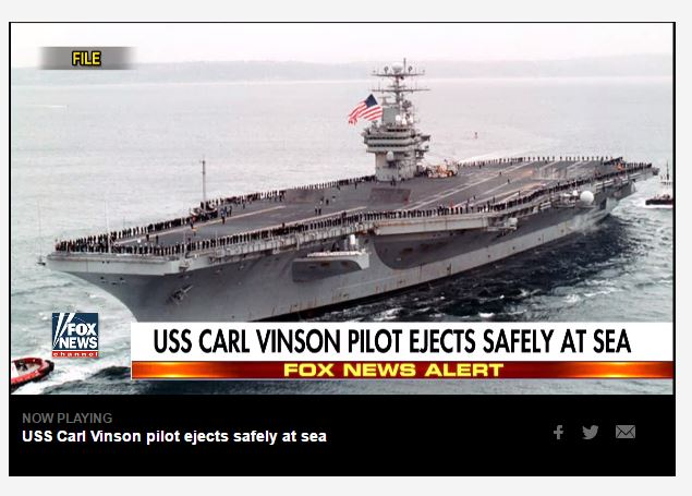 USS Carl Vinson Is Still In The Philippines. What Is Up??