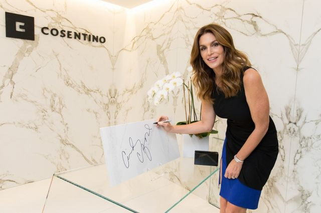 Cindy Crawford talks about Her choice of Design