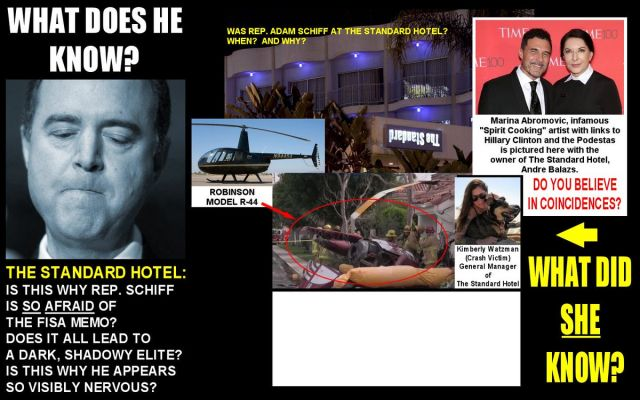 Video: Adam #Schiff in Acts of #Pedophilia at The Standard Hotel! Steve Pieczenik, Totalrehash.com