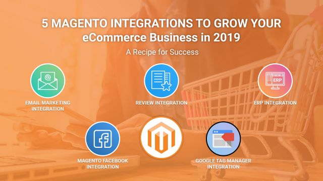 5 Magento Integrations to Grow Your eCommerce Business in 2019 – A Recipe for Success | Resources