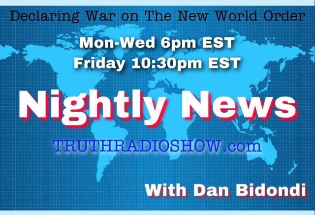 Digital Currency In Legislation, Voter Fraud, Masked Hypocrisy, Do Most American's Oppose Covid Vaccine? 911 Goes Down - The Nightly News w/Dan Bidondi