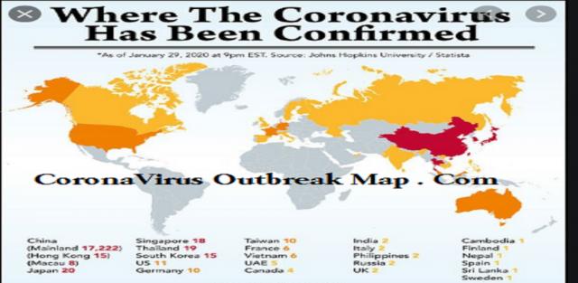 Image result for coronavirus USA map