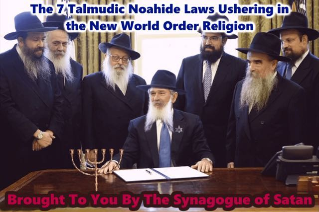 There's A Storm Brewing Called the Noahide Laws Drummed Through Congress By the Jew Traitor George HW Bush to Kill Christians! Barack Obama, Another Jew, Promised That He Will Be Back But Not Wearing A Suit. What Is Barack Obama Coming Back As? A Jack Ass, The Mascot Of the Demon Rats? (Great Videos)