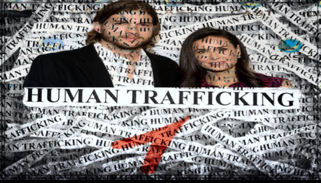 Ashton Kutcher's Human Trafficking Organization (Thorn) Connection To Jeff Bezos And The Clowns In Action.  Awesome Video!
