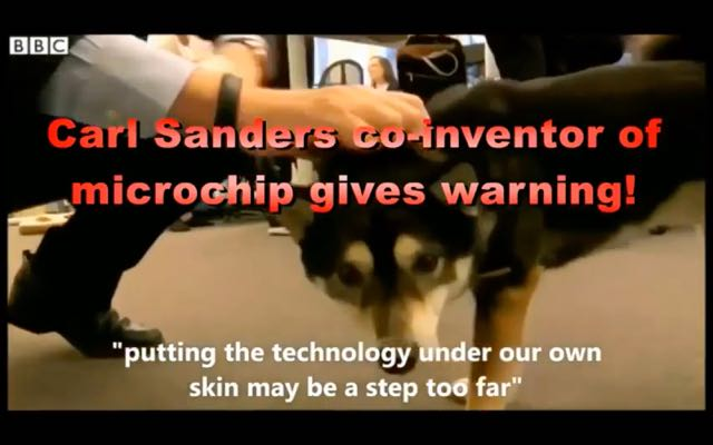 A Warning From the Man Who Made the RFID Chip.  Awesome Video!