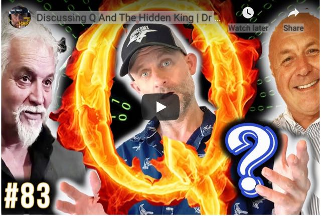 Discussing Q And The Hidden King:  Dr Charles Ward & Chris Thrall.  Lots Of Nuggets In This One.  Great Video