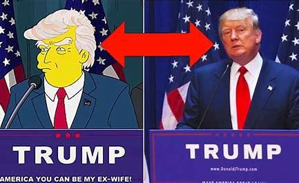 The Simpsons Forecasted The Rise And Fall Of President Trump. Another Show Predicts The Fall of Pence. Is The Grim Reaper In Trump And Pence's Immediate Future? Who Will Become The Führer Of The Fourth Reich In America?