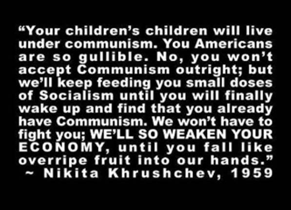 Barack Hussein Obama - Making Us A Communist Nation ...