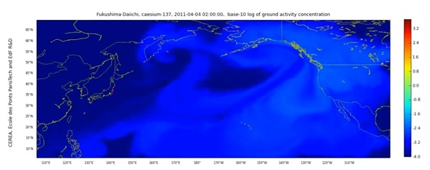 Fukushima Radiation Hitting US, Canada More Than Japan (Video)