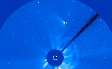 Comet ISON Bombed!!! NASA Shot It Down (Video) | Conspiracy Theories