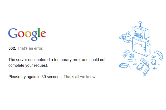 Internet Traffic Plunges 40% After 5 Minute Google Outage (Video)