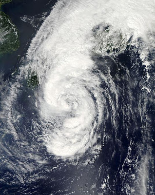 They're Fuked- Monster Typhoon Heads For Fukushima (Video)
